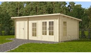 log cabin DOVER 6x4m...