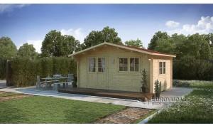 Log cabin NICE 5x4m (20m²),...