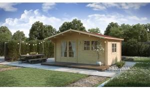Log cabin MONACO 4x4m...