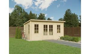 Log cabin TORINO plus 5x4m...
