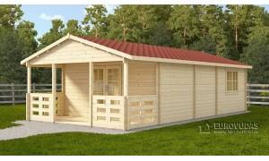 Wooden summerhouse TYP 5 x...