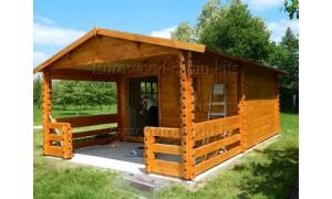 log cabin ROY 4x6m (24m²),...