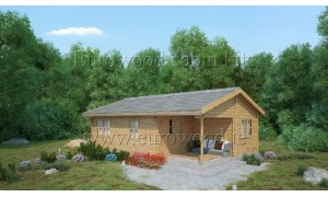 wooden summerhouse LORA 6 x...